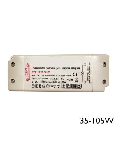 Transformador regulable 35-105W