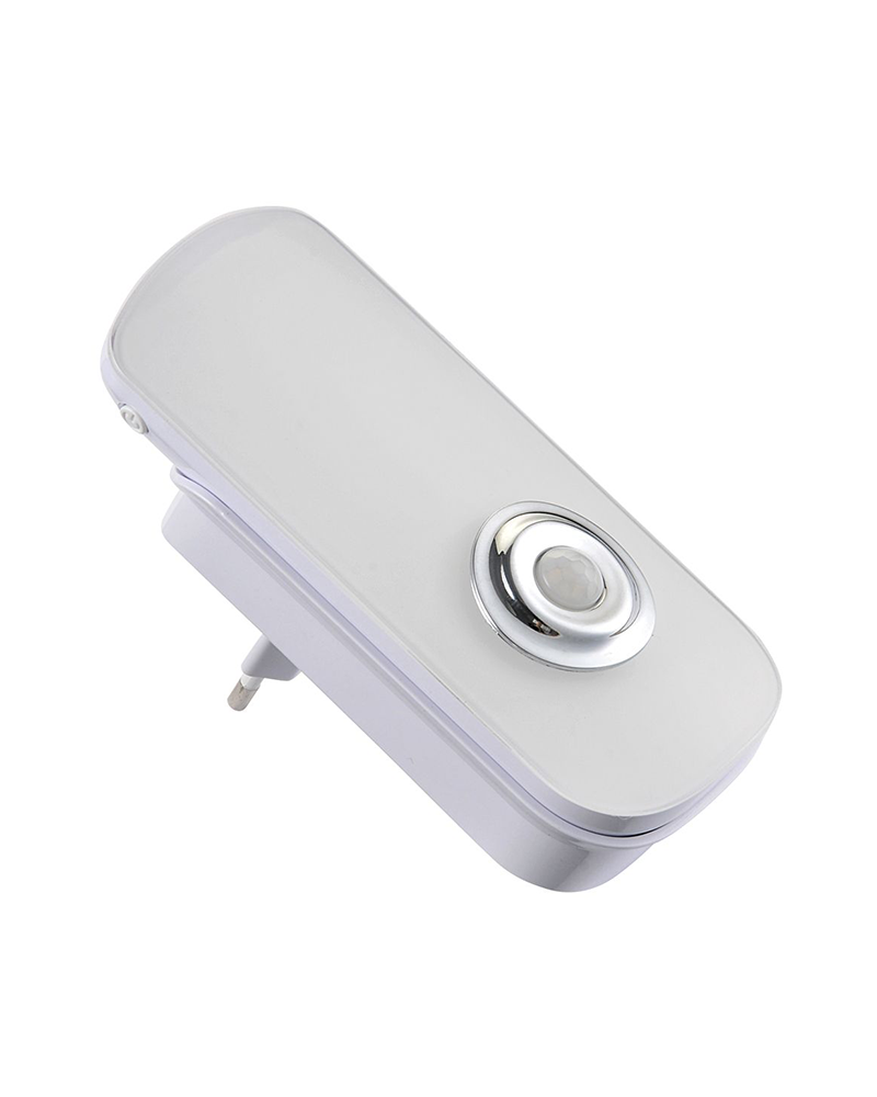 Sensor movimiento LED y linterna LED alto rendimiento con bateria