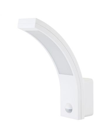 Sensor de presencia decorativo para instalar en pared IP54, apto para exteriores