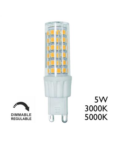 G9 LED 5W Regulable 450Lm alta luminosidad