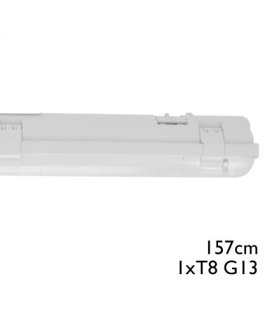 Regleta estanca ECO LED IP65 1x1500mm para 1 tubo led G13 T8