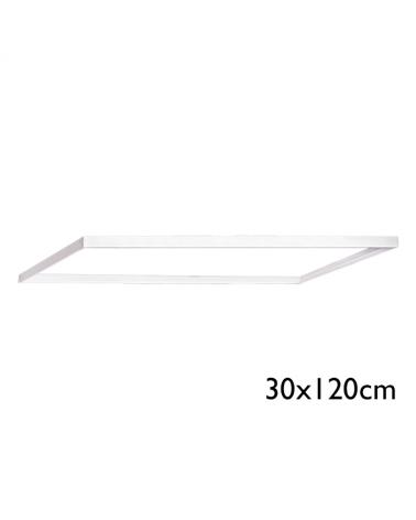 Cajón superficie desmontable 30x120x4,8cms para panel 120x30cms