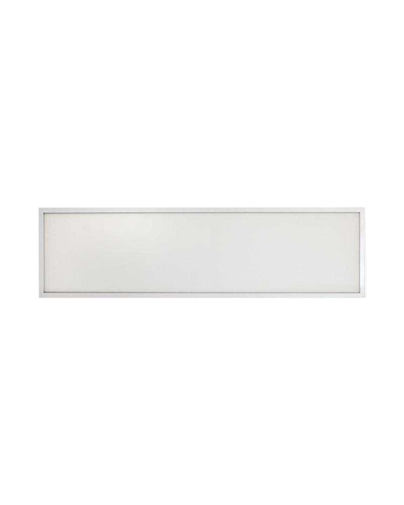 Panel LED de empotrar 36W 30x120cm cuerpo de acero +50.000h. IP40