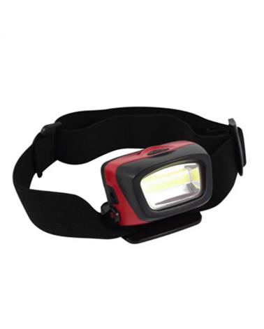 Linterna de cabeza roja  LED 3W 120Lm