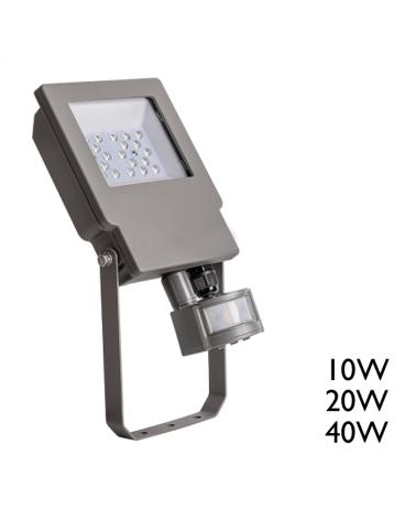 Proyector de exteriores  alta luminosidad con sensor de presencia 5000K IP65