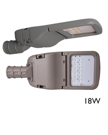 Luminaria LED 18W 740 12 leds 200.000 horas fabricado en España