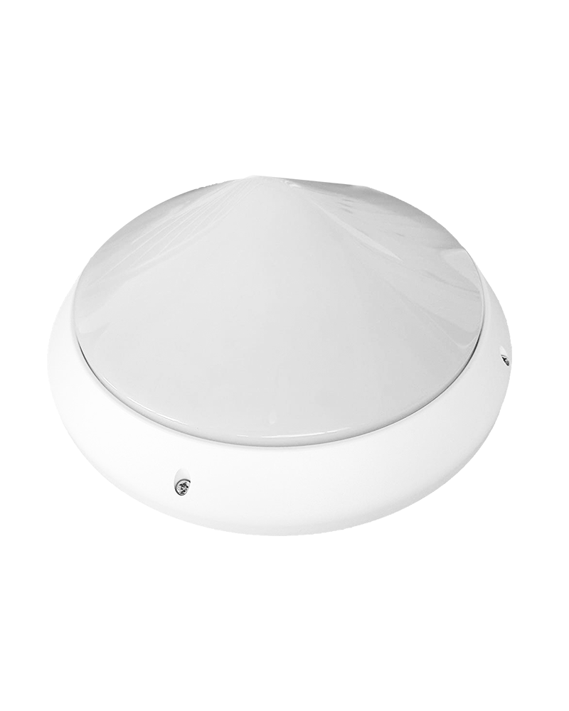 Aplique de exteriores 60W E27 IP66 color blanco portalámparas cerámico