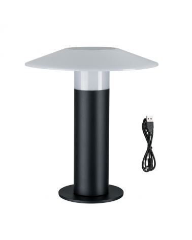 Lámpara de exterior 30cm portatil LED 3,5W con bateria IP44