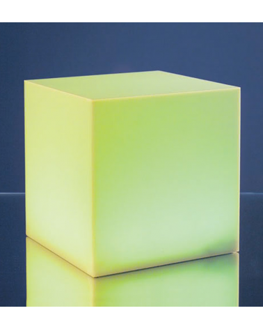 Cubo 15x15cm 2W LED multicolor