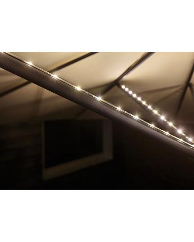Tira LED para sombrilla exterior 4x40cm DC 5 V