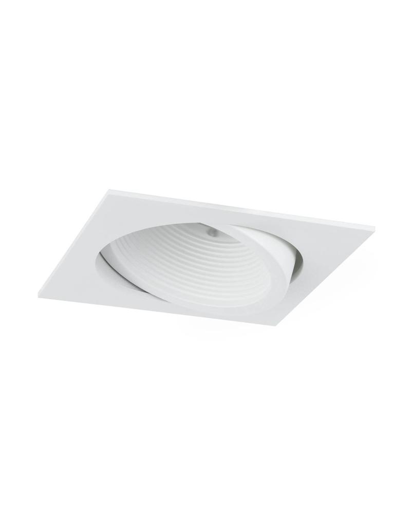 Downlight empotrable blanco oscilante marco cuadrado LED 4000ºK 16W