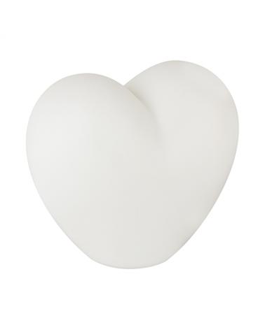 Lámpara 8cm LED multicolor forma corazón