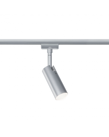 Foco para carril tubo metal LED 3000K 415Lm Serie 142/1