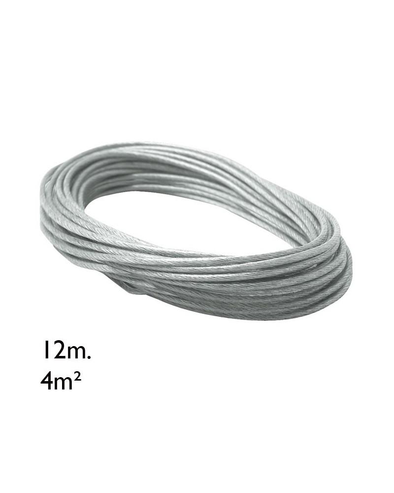 Cable adicional rollo 12m 4m²
