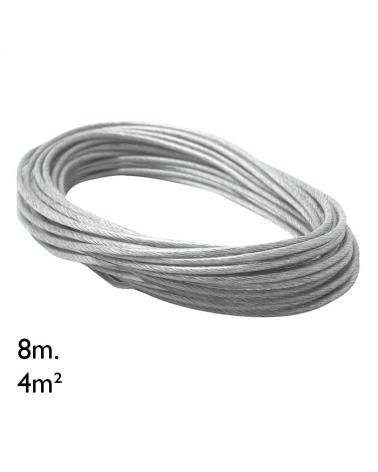 Cable adicional rollo 8m 4m²