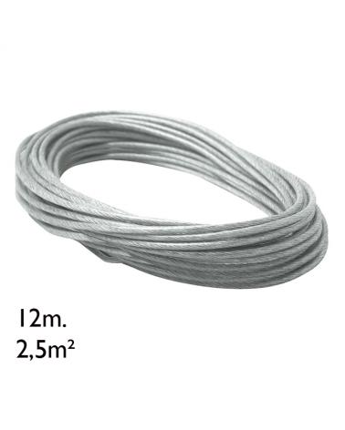 Cable adicional rollo 12m 2,5m²