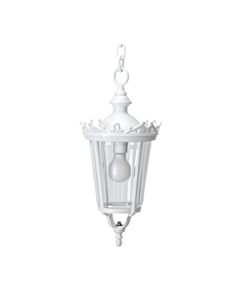 Farol lámpara colgante de estilo clásico para exteriores IP44 E27 75cms material resistente a corrosión y UV