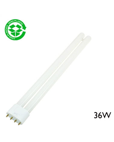 Lámpara PL-L 36W 2G11 luz blanca día 6400K