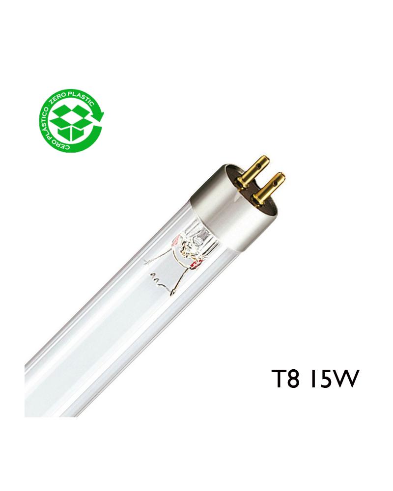 Tubo germicida 15W T8 G13 437mm G15T8