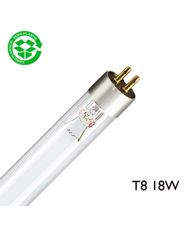 Tubo germicida 18W T8 G13