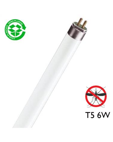 Tubo fluorescente actínico de 6W BL F6T5-BL