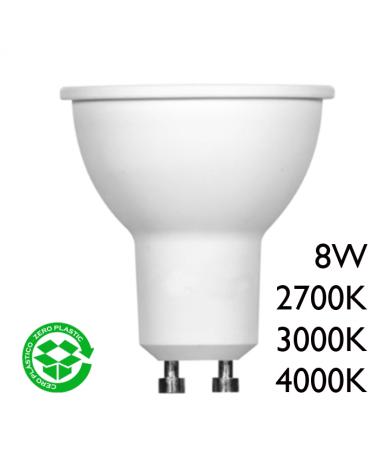 Spot Dicroica 50mm LED 8W GU10  60°