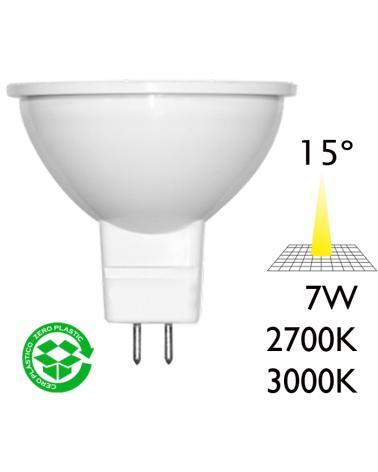 Spot Dicroica 50mm LED 7W GU5,3 15°