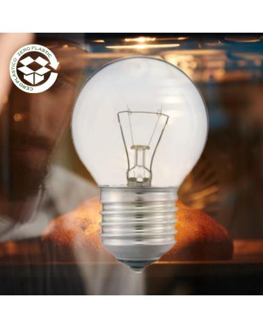 Lámpara esférica para hornos 40W E27 300ºC 230V