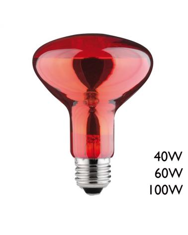Lámpara infrarrojos reflectora E27