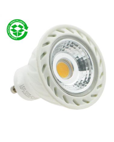 Spot Dicroica 50 mm. cob LED 7W GU10 36º 3000K
