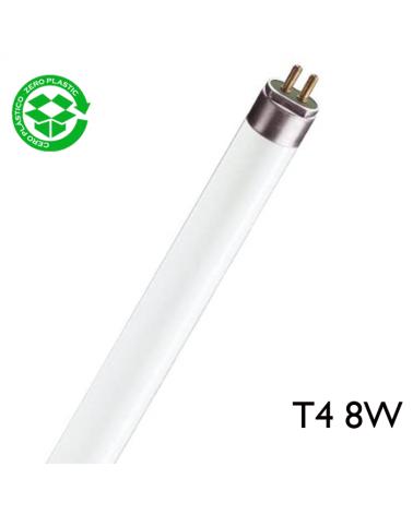 Tubo fluorescente 8W luz fría 6500K T4