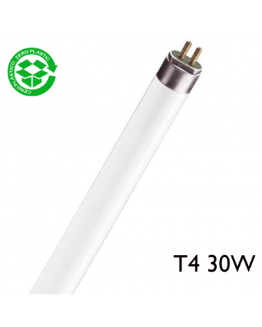 Tubo fluorescente 30W luz fría 6400K T4