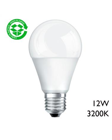 Bombilla estándar LED 12W E27 A+ luz cálida