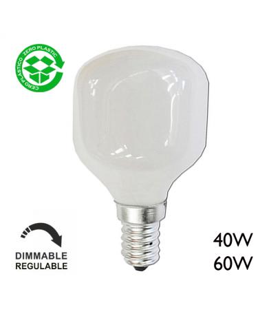 Bombilla esférica softone E14 Luz cálida