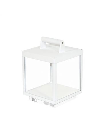 Farol blanco LED con bateria USB de Aluminio 3000 K