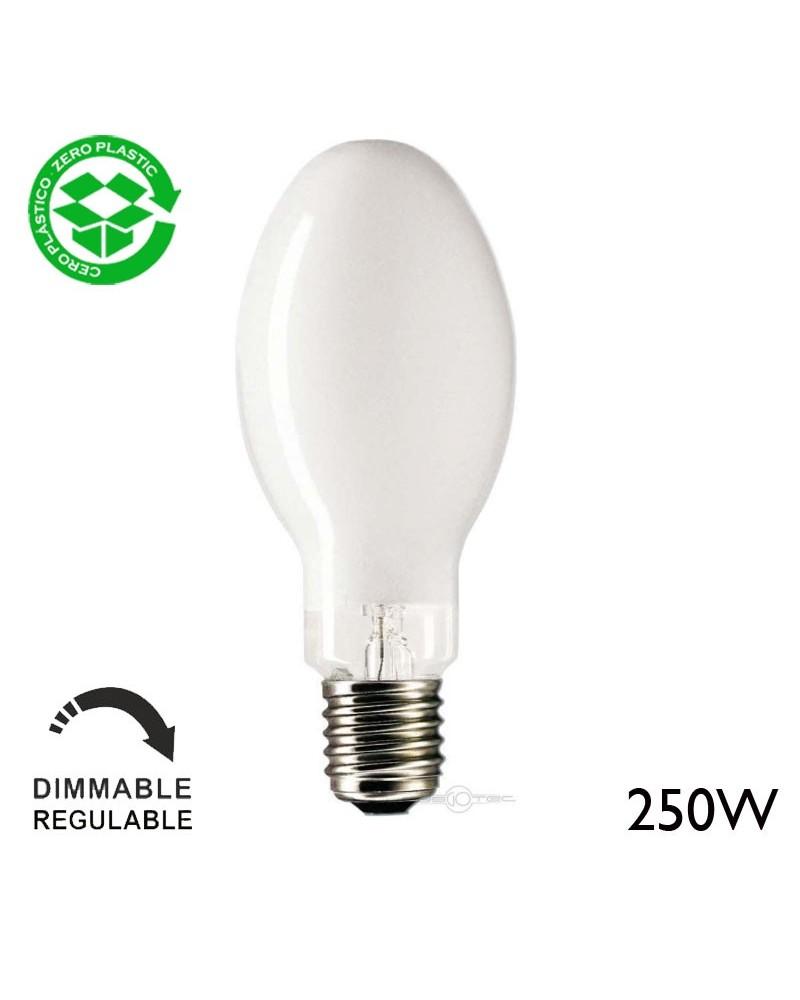 Lámpara de luz mezcla mercurio 250W E40 5000ºK