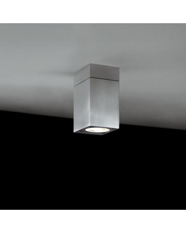 Lámpara de techo superficie de exterior Block Out C luz directa IP54 GU10