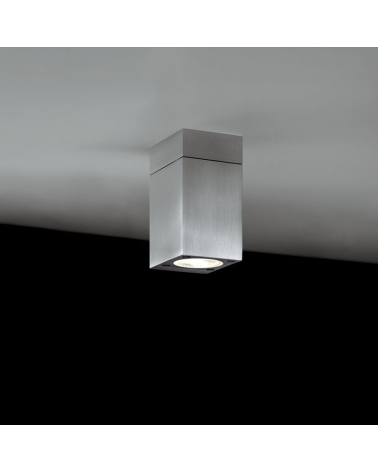 Outdoor surface ceiling lamp Block Out C direct light IP54 GU10