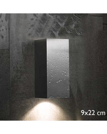 Aplique de exterior Block Out W20 luz directa o indirecta IP54 GU10