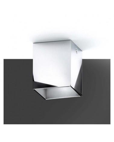 Foco cubico 5cm alumini tapa decorativa LED 5W 2700K 500Lm regulable