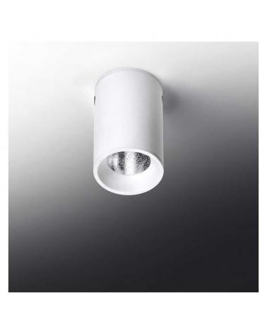 Foco cilindro liso de superficie fijo 4x6,4cm acero regulable LED 5W 2700K 500Lm