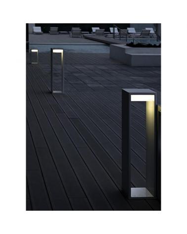 Outdoor beacon Frame M 70 cm in aluminum LED 16,6W 2700K