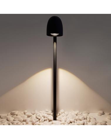 Outdoor beacon Speers Outdoor Bollard 85 cm high metal IP54 LED 7W 2700K