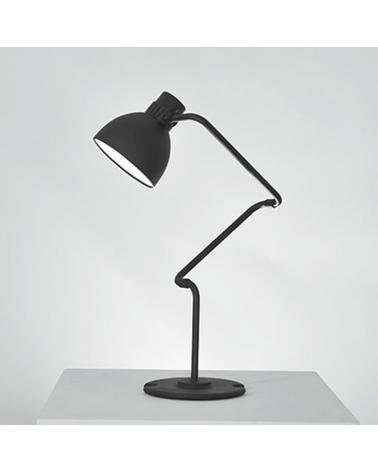 Lámpara de diseño de mesa articulada BLUX SYSTEM T30 pantalla de aluminio E27 11W