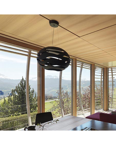 Design ceiling lamp TREE SERIES S50 LED 19,5W 3000K aluminum lampshade