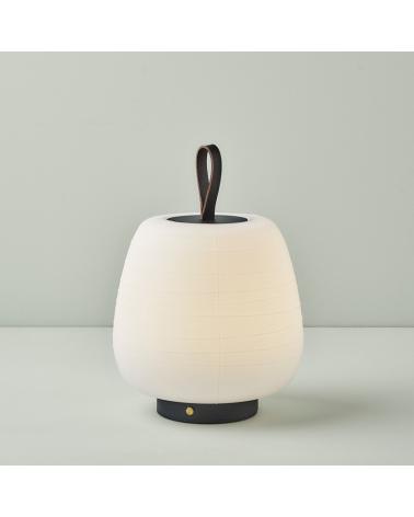 Lámpara de diseño portátil MISKO CAMP LED 2,1W 3000K con batería recargable