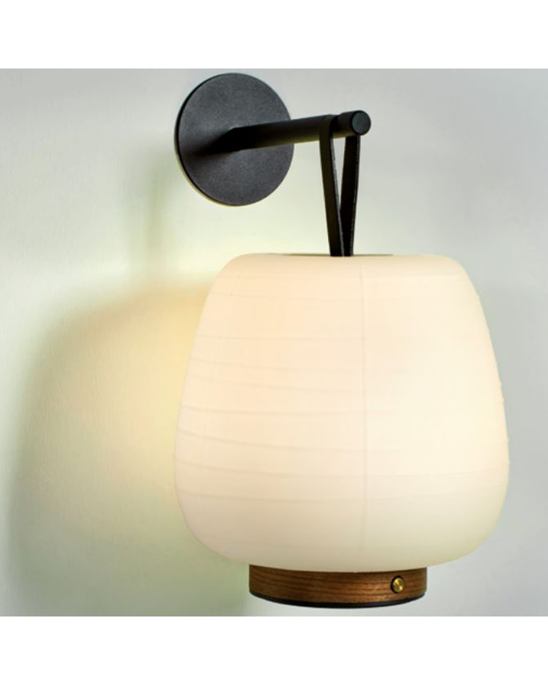 Wall light portable lamp design MISKO CAMP HOOK LED 2,1W 3000K with rechargeable battery