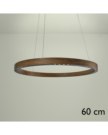 Design ceiling lamp R2 S60 FLAT CANOPY LED 3x18W 3000K in aluminum with rosette