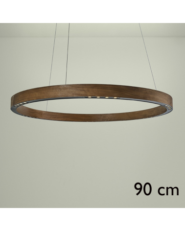 Design ceiling lamp R2 S90 FLAT CANOPY LED 4x18W 3000K in aluminum with rosette