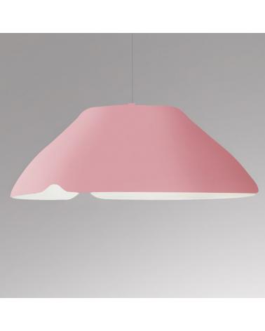 Lámpara de diseño de techo pantalla en aluminio GINKGO S50 E27 23W